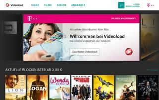 Videoload Webseiten Screenshot