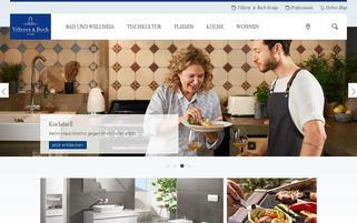 Villeroy & Boch Webseiten Screenshot