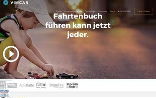 Vimcar Webseiten Screenshot