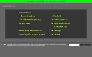 VIPauktion Webseiten Screenshot