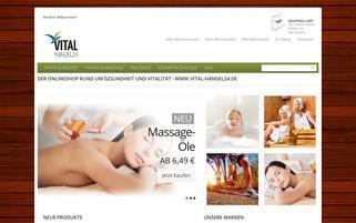 vital-handel24.de Webseiten Screenshot