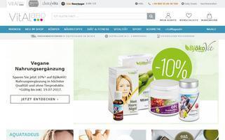 Vitalabo Webseiten Screenshot