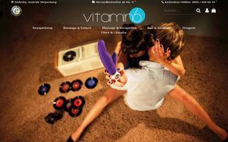 Vitamin6 Webseiten Screenshot