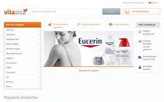 VitaZita Webseiten Screenshot