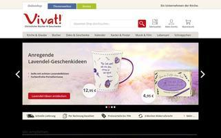 Vivat Webseiten Screenshot