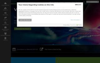 VMware Webseiten Screenshot