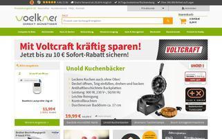 Voelkner Webseiten Screenshot
