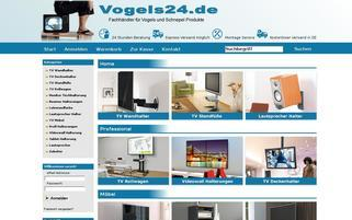 vogels24.de Webseiten Screenshot