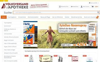 Volksversand Apotheke Webseiten Screenshot