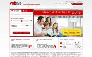 Voltera Webseiten Screenshot