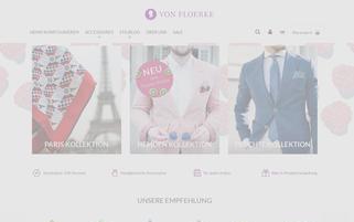 Von Floerke Webseiten Screenshot