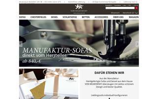 Von Wilmowsky Webseiten Screenshot