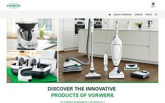 Vorwerk Webseiten Screenshot