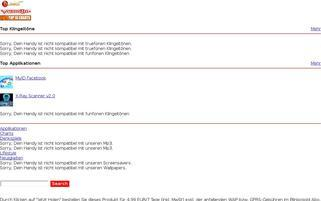 waala Webseiten Screenshot