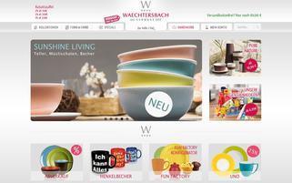 Waechtersbach Keramik Webseiten Screenshot