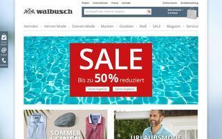 walbusch.de Webseiten Screenshot