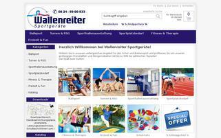 Wallenreiter Webseiten Screenshot