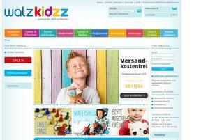 Walzkidzz Webseiten Screenshot