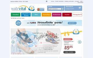 WalzVital Webseiten Screenshot