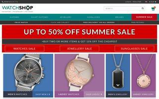 Watch-Shop Webseiten Screenshot