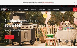 webergrill.de Webseiten Screenshot