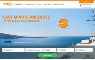 weg.de Webseiten Screenshot