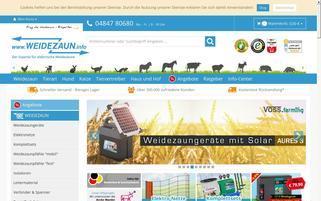 WeideZaun.info Webseiten Screenshot