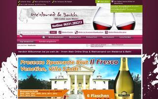 Weisbrod & Bath Webseiten Screenshot