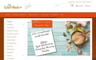 Well-Nest Webseiten Screenshot
