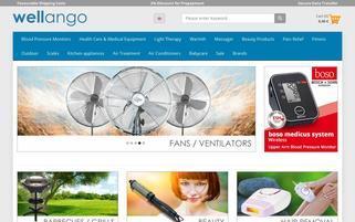 Wellango Webseiten Screenshot