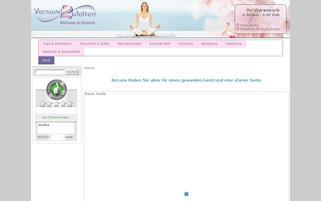Wellness Esoterik Webseiten Screenshot