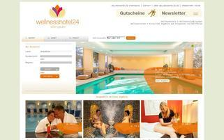 Wellnesshotel24.de Webseiten Screenshot