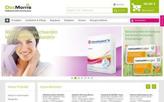 Wellsana Apotheke Webseiten Screenshot