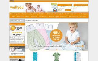 wellyou Webseiten Screenshot