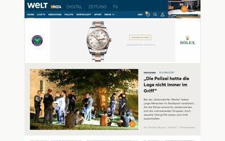 welt.de Webseiten Screenshot