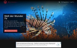 Welt der Wunder Webseiten Screenshot