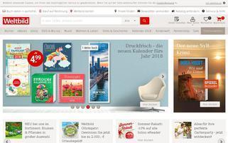 Weltbild Webseiten Screenshot
