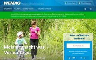 wemio Webseiten Screenshot