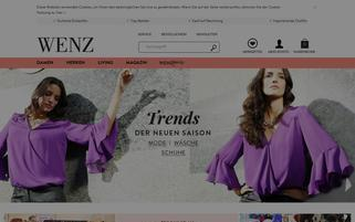 Wenz Webseiten Screenshot