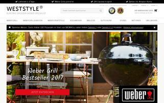 Weststyle Webseiten Screenshot