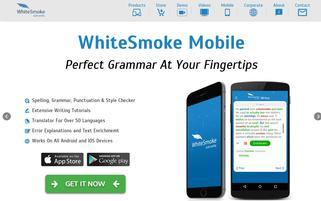 WhiteSmoke Webseiten Screenshot