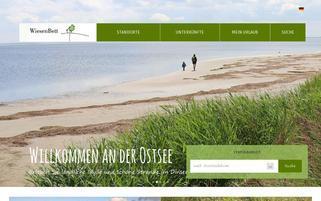 WiesenBett Webseiten Screenshot