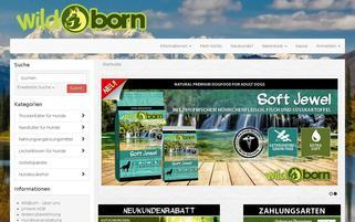 wildborn Webseiten Screenshot