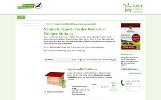 Wildtierland Webseiten Screenshot