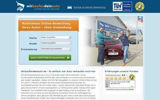 wirkaufendeinauto Webseiten Screenshot