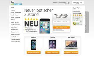 WIRKAUFENS Webseiten Screenshot