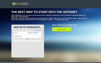 wisedock.de Webseiten Screenshot