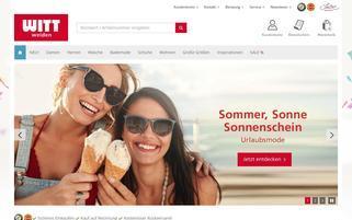 Witt Weiden Webseiten Screenshot