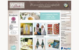 Wohnglück Webseiten Screenshot