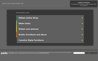 WohnWunderWelt Webseiten Screenshot
